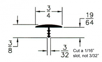 Help with bits for t molding for UK