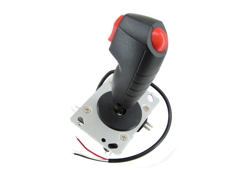 Shooting Joystick 8 Way Flight Stick With Trigger Top Fire Button For Arcade Gam