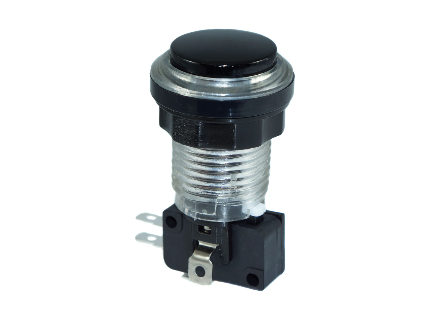 White Led Bezel Eclipse Pushbutton Black Plunger Electrical Wiring Push Button Switch