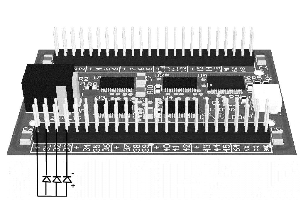 Ultimarc Pacled64 Led Controller Board