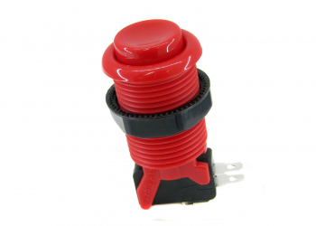 Happ-Red-Pushbutton-Concave