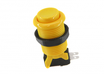 Happ-Yellow-Pushbutton-Concave