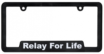 Relay For Life License Plate Frame