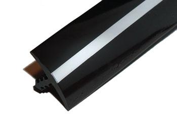 Black Chrome Black T-Molding