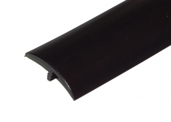 1-1/2 Inch Black T-Molding