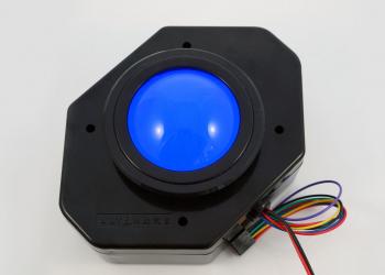 Blue Ultimarc U-Trak Trackball with Blue LED Mod (Discontinued)
