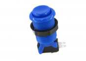 Happ-Blue-Pushbutton-Concave