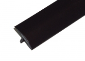 1 Inch Black T-Molding