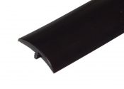 1-1/2 Inch Black T-Molding