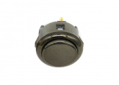 sanwa-snap-in-button-metallic-gun-metal-OBSJ-30-GM