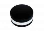 ultimarc-spintrak-black-silver-spinner-knob