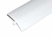 1-1/4 Inch White T-Molding