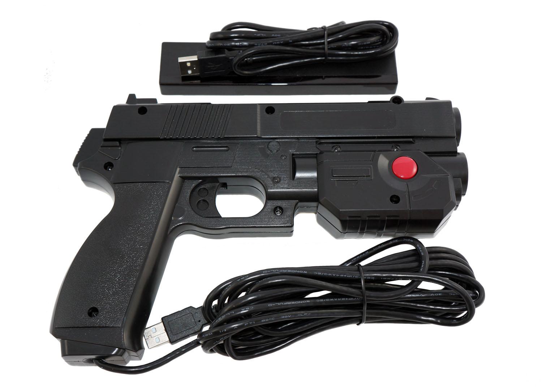 Aimtrak Arcade Light Gun Black